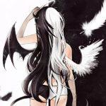 Аниме рисунки ангелов — подборка