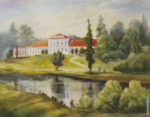Архитектура и природа рисунки 026