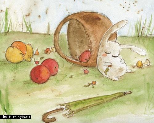 Детские рисунки иллюстрации 003