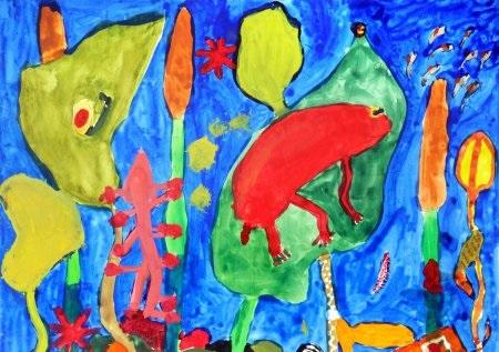Детские рисунки иллюстрации 004