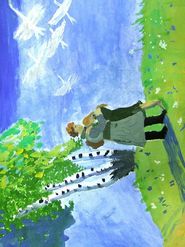 Детские рисунки иллюстрации 010