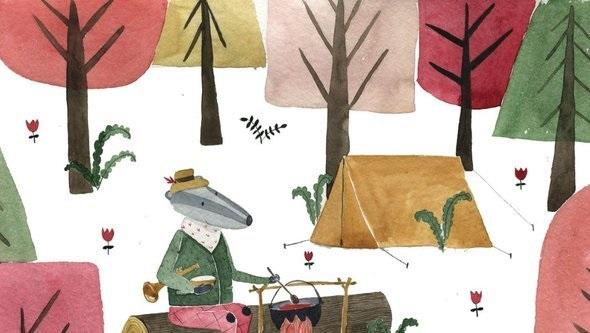 Детские рисунки иллюстрации 013