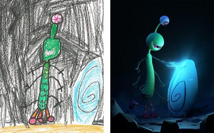 Детские рисунки иллюстрации 022