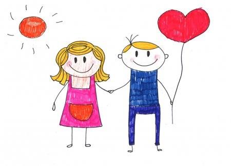 Детские рисунки иллюстрации 023