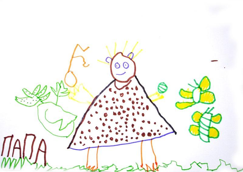 Детские рисунки иллюстрации 027
