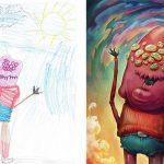 Детские рисунки иллюстрации — подборка