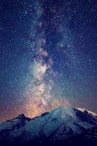 Звездное небо обои для айфона 023