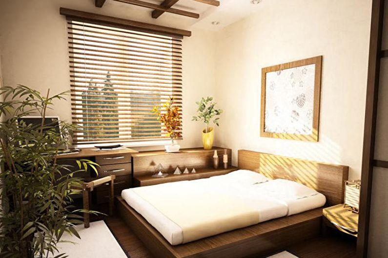 Как обустроить спальню в японском стиле (1)
