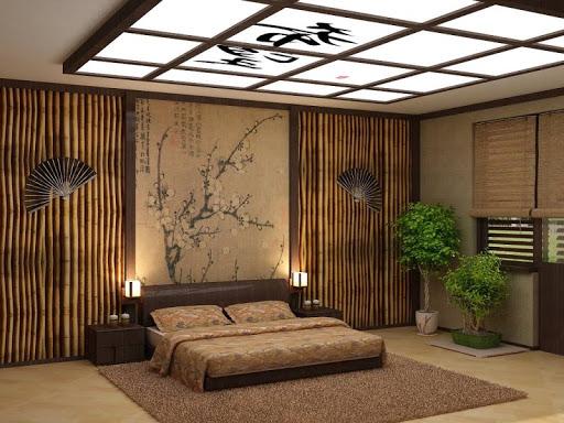 Как обустроить спальню в японском стиле (12)