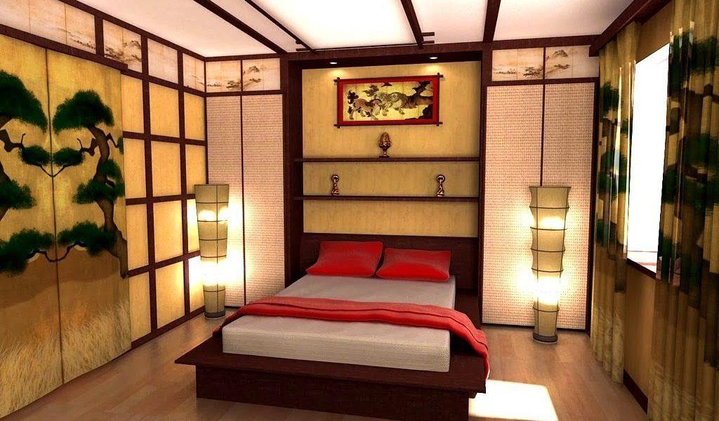 Как обустроить спальню в японском стиле (3)