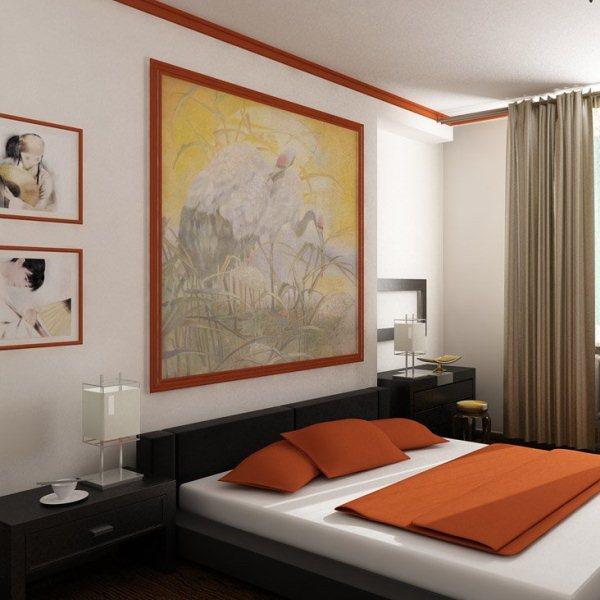 Как обустроить спальню в японском стиле (5)