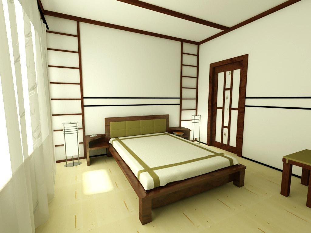 Как обустроить спальню в японском стиле (8)