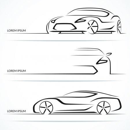 Машины арт рисунки 002