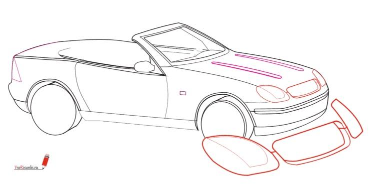 Машины арт рисунки 006
