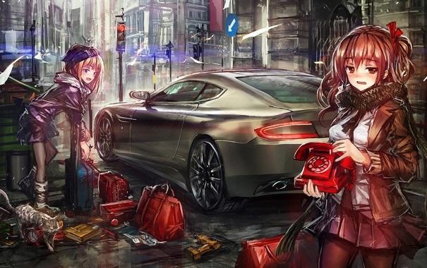 Машины арт рисунки 011