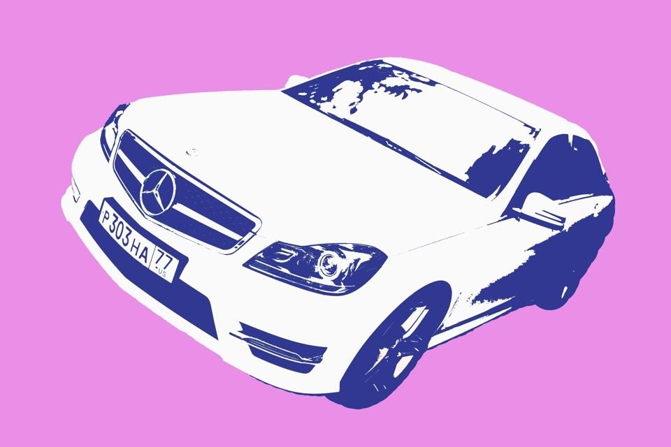 Машины арт рисунки 017
