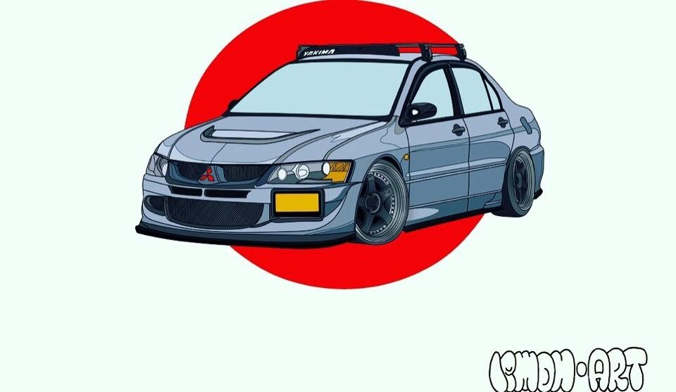 Машины арт рисунки 019