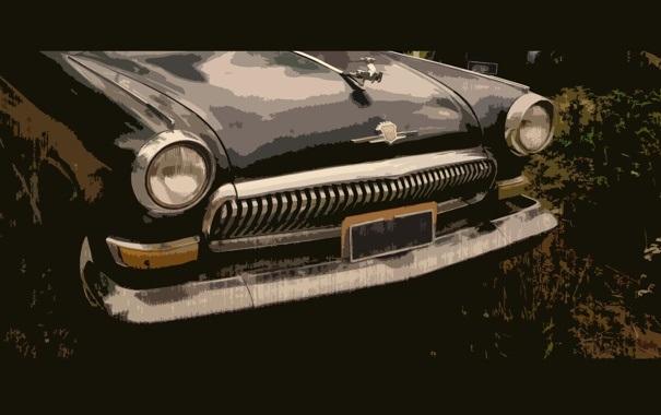 Машины арт рисунки 021