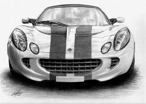 Машины арт рисунки 025