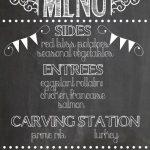 Меловые надписи в кафе — подборка