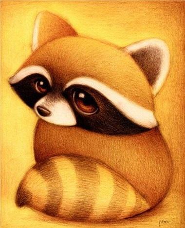 Милые рисунки животных 003