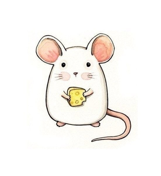 Милые рисунки животных 004