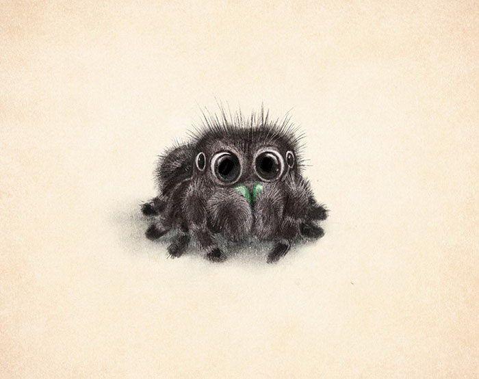 Милые рисунки животных 014