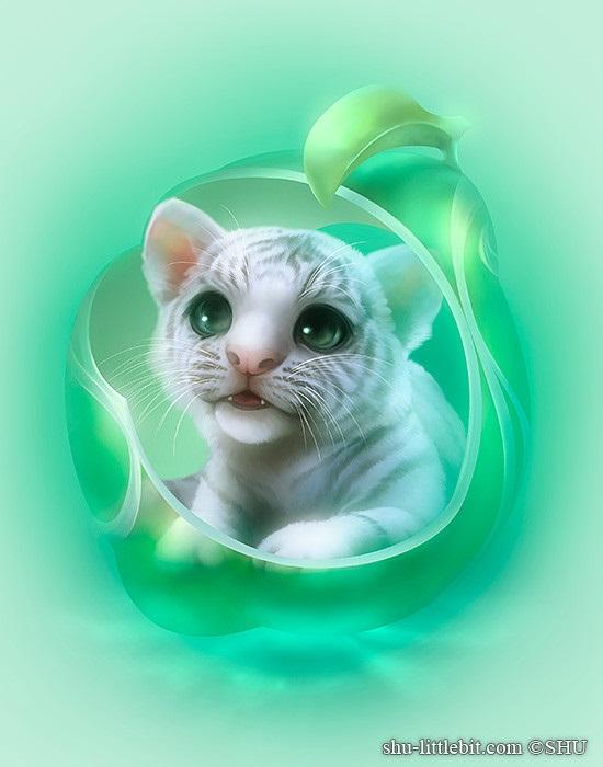 Милые рисунки животных 015