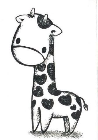 Милые рисунки животных 016
