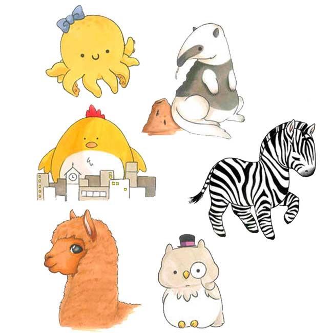 Милые рисунки животных 021