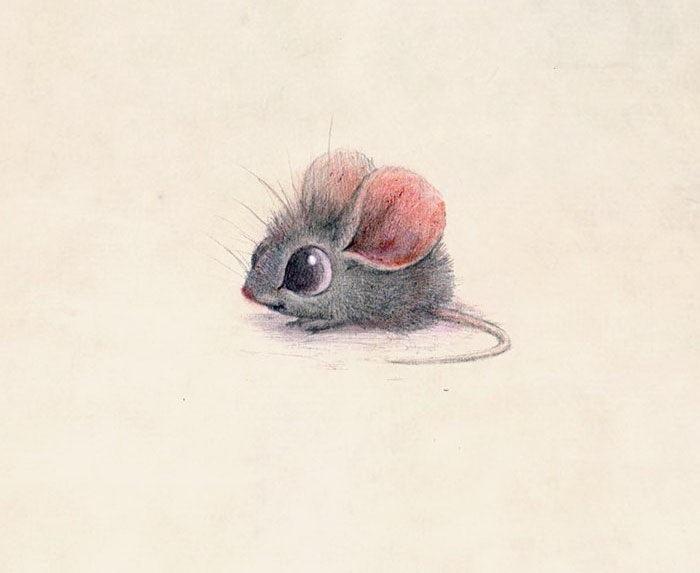 Милые рисунки животных 023