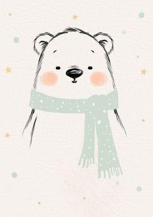 Милые рисунки животных 024