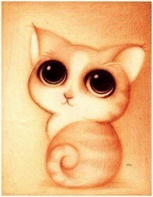 Милые рисунки животных 028