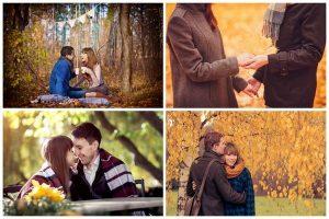 Осенняя фотосессия влюбленных 029