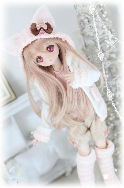 Рисунки аниме куклы 001