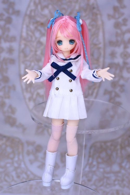 Рисунки аниме куклы 004