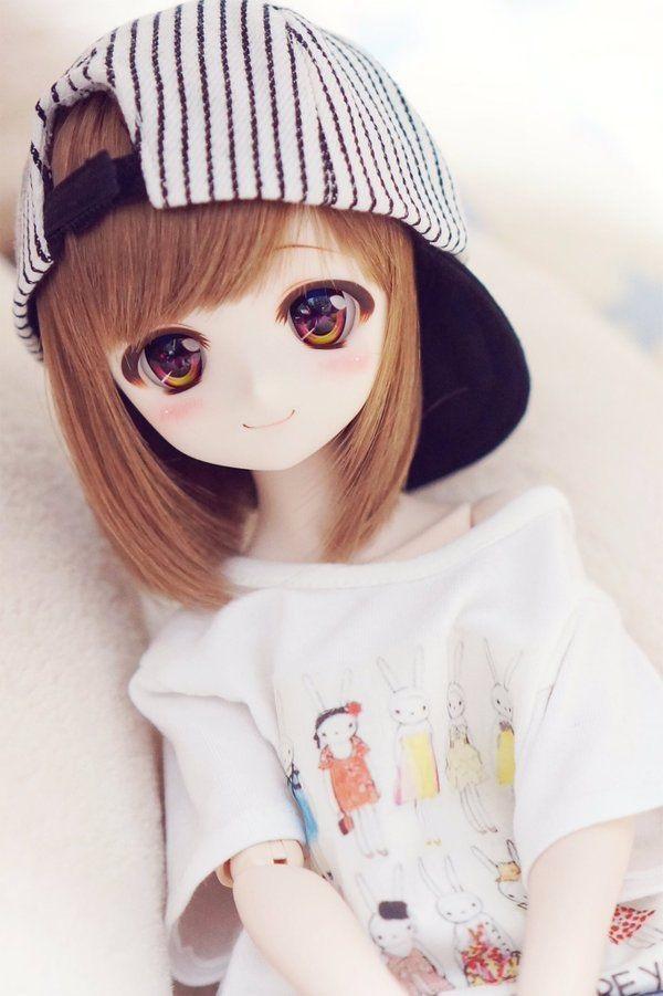 Рисунки аниме куклы 010
