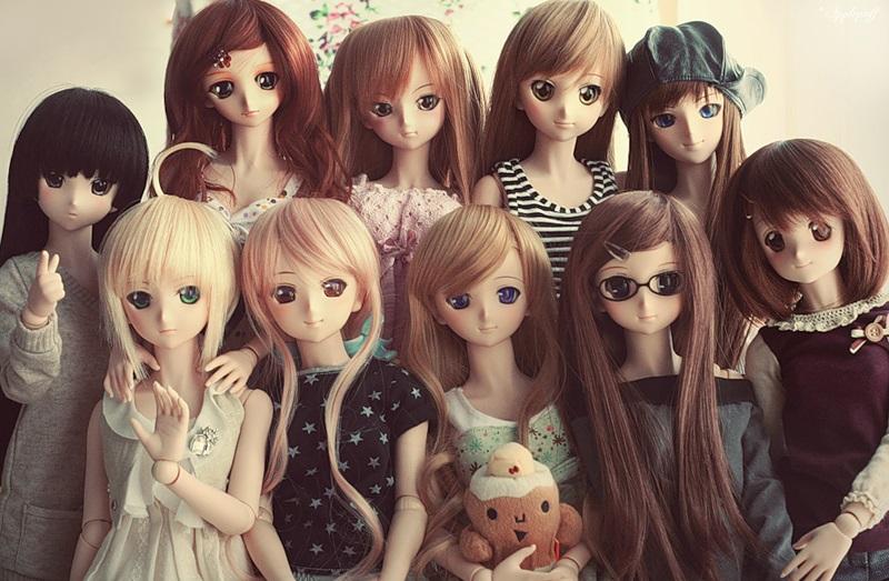 Рисунки аниме куклы 017