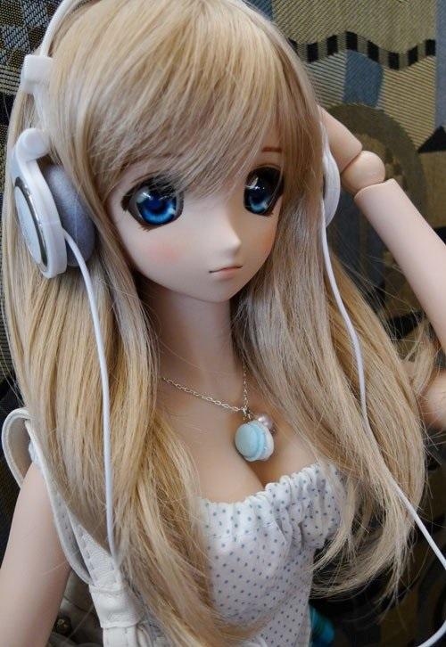 Рисунки аниме куклы 019