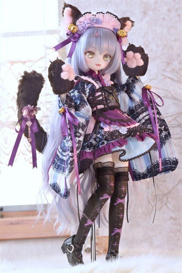 Рисунки аниме куклы 021
