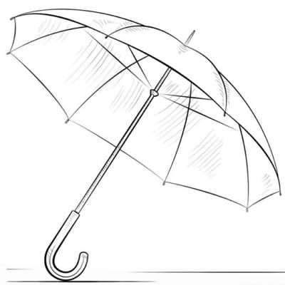 Рисунки зонтиков 001