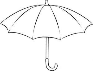 Рисунки зонтиков 017