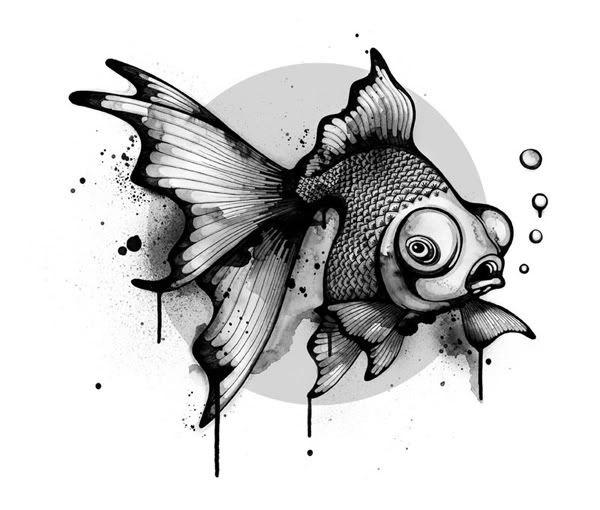 Рисунки на тему рыбы 001