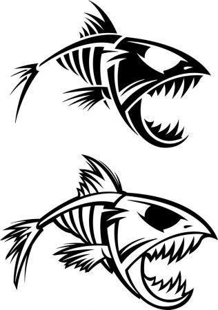 Рисунки на тему рыбы 028