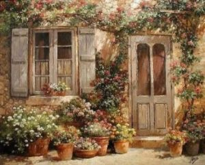 Рисунки окон и дверей 014