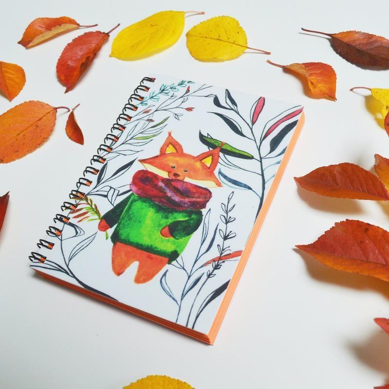 Рисунки осень для скетчбука 006
