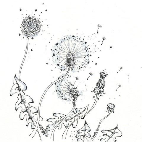 Рисунки осень для скетчбука 020