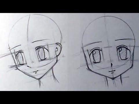 Скетчи аниме глаза 018