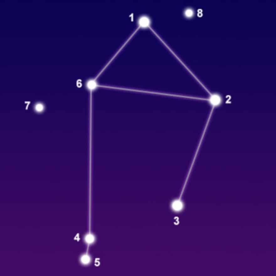 Созвездие весы поделка 001
