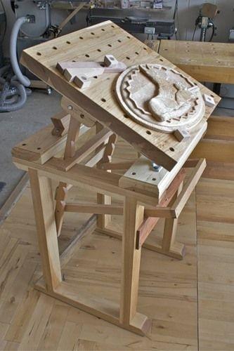 Стол для резьбы по дереву 001